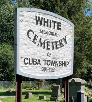 white-cemetary